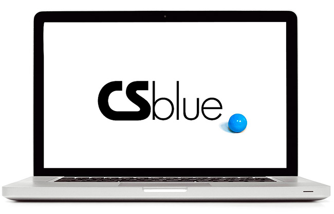 CS Blue website